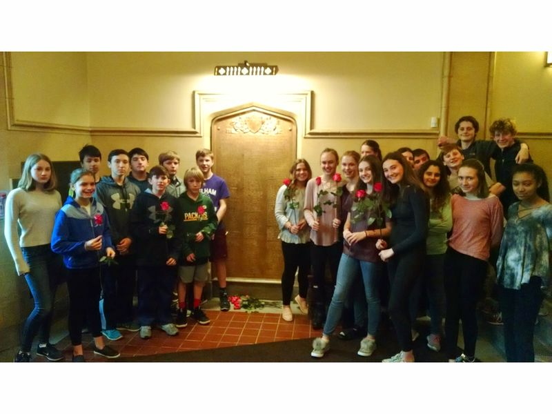 Pelham Students Commemorate World War I Pelham Ny Patch