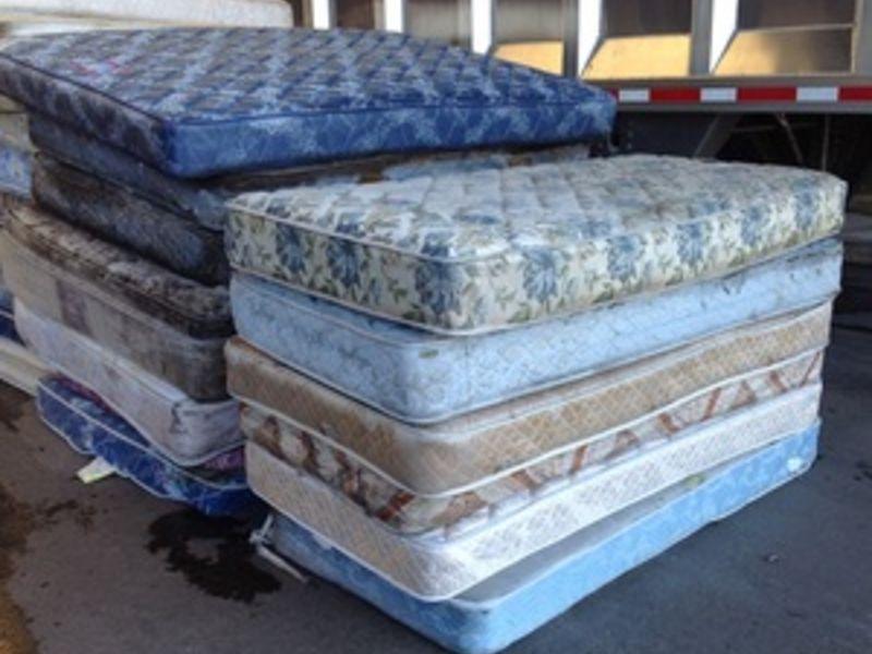 pile of mattresses. Santa Cruz Participates In Mattress Recycling Program -0 Pile Of Mattresses