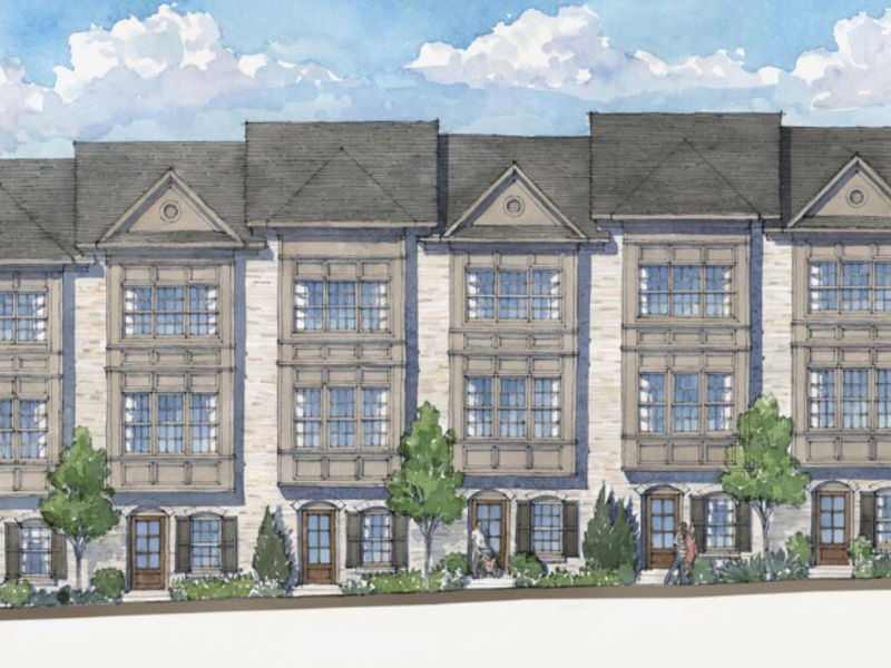 Townhome Community Broadview Place Comes To Buckhead