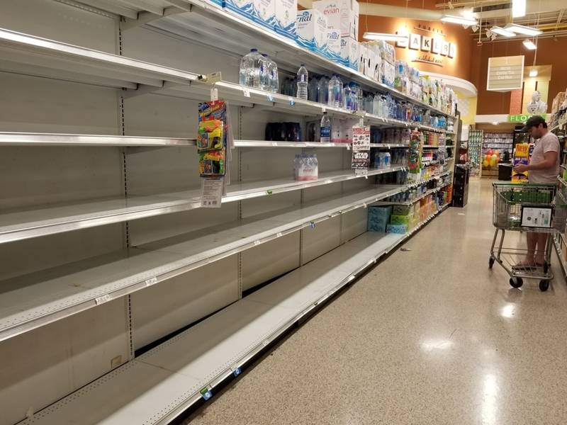 Hurricane Irma Storm Emptying Atlanta Shelves Decatur