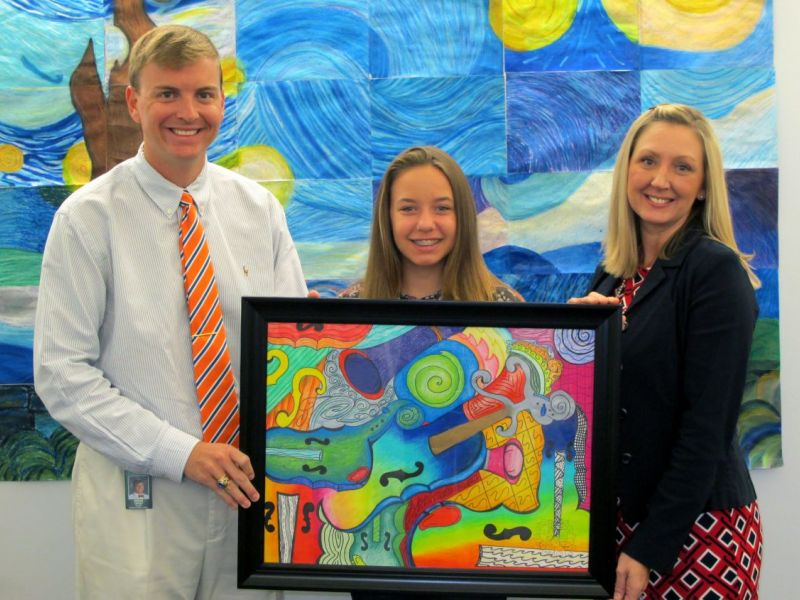 Sarasota Middle School Students Art Showcased At State Capitol