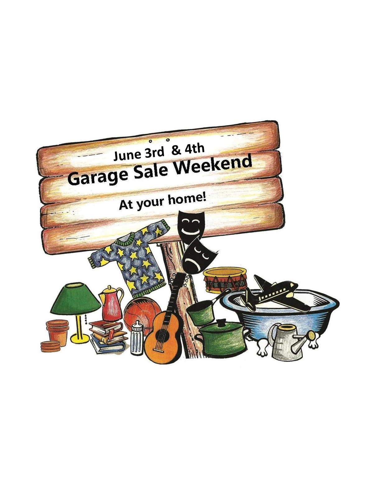 Register To Host Garage Sale In Santa Cruz Annual Event Santa Cruz - Garage sale treasure map