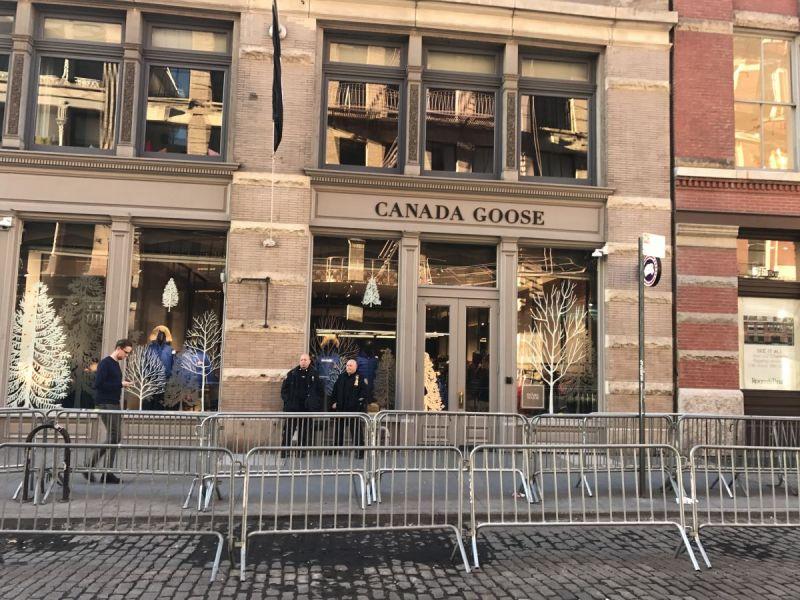 canada goose store soho