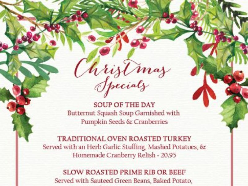 amphora restaurant open christmas day - Restaurants That Are Open On Christmas Day