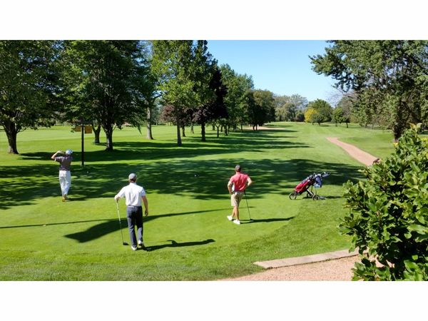 Golf Balls Threaten Panels Patrons Of Botanic Garden Highland Park Il Patch