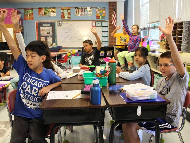 Wilmette Schools Win Blue Ribbon Award Of Excellence Patch