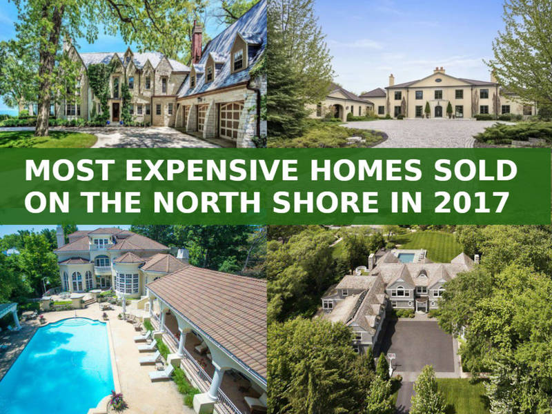 North shore had 14 of area 39 s 50 most expensive home sales for North shore home builders