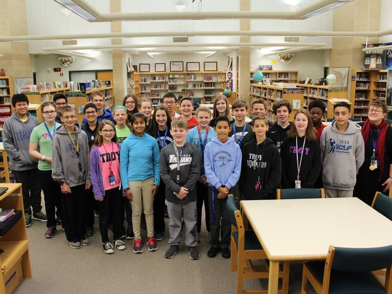 New Lenox Illinois >> Troy Scholastic Bowl Team Places At Providence Bowl ...