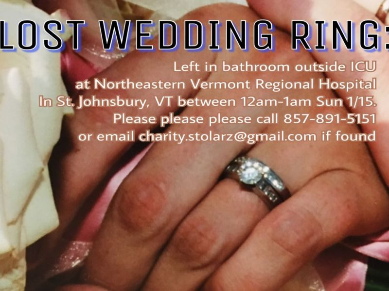 1 lost wedding ring at nvrh please help - Lost Wedding Ring