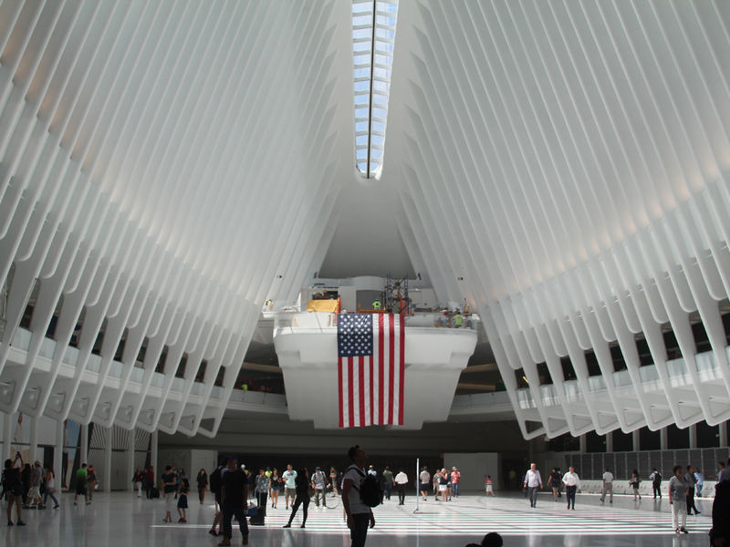 Port authority blames oculus leaks on nearby construction - Bus from port authority to jersey gardens ...