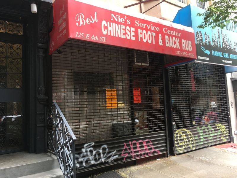 Massage parlor in chinatown nyc