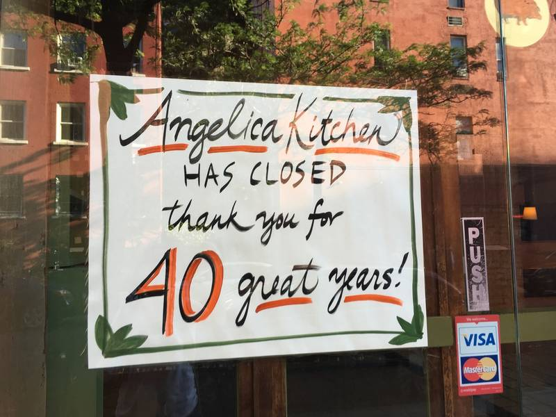 Here Are Some Of The East Village Businesses That Closed In 2017