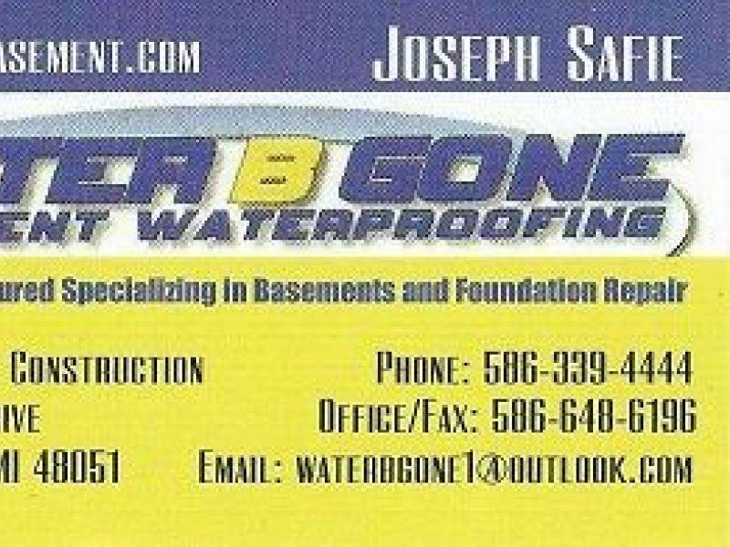 ... Basement Waterproofing Specialists   WaterBGone 586 339 4444 0 ...