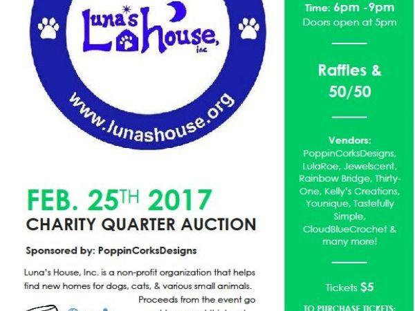 Luna's House Charity Quarter Auction - Bel Air, MD Patch