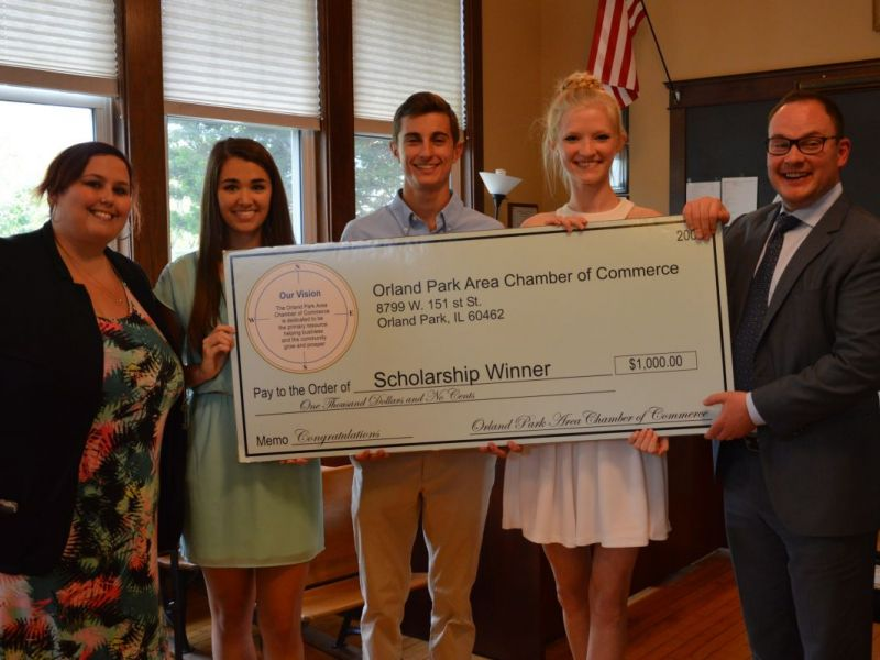 orland park area chamber of commerce scholarship 2017