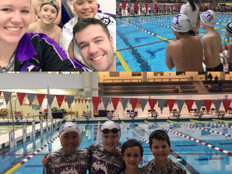 Wallingford Ymca Dolphins Swim Team Successes 2017 New