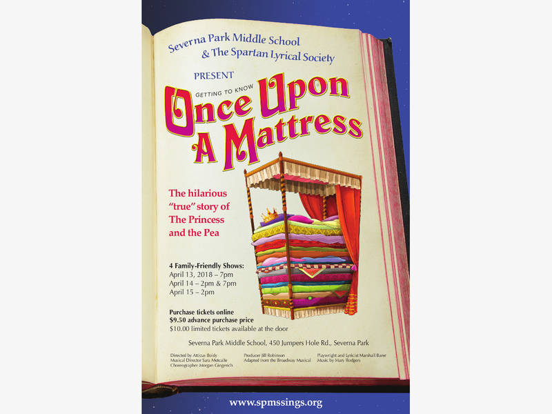 once upon a mattress poster. Family-Friendly Musical Once Upon A Mattress Poster