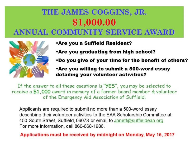 introduction for community service essay