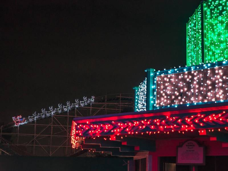 Kennywood Readies For 7th Annual Holiday Lights Display | Pittsburgh ...