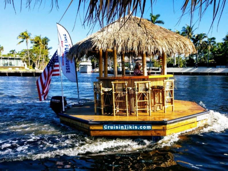 Motorized Tiki Bar To Cruise Pittsburgh Rivers This Summer