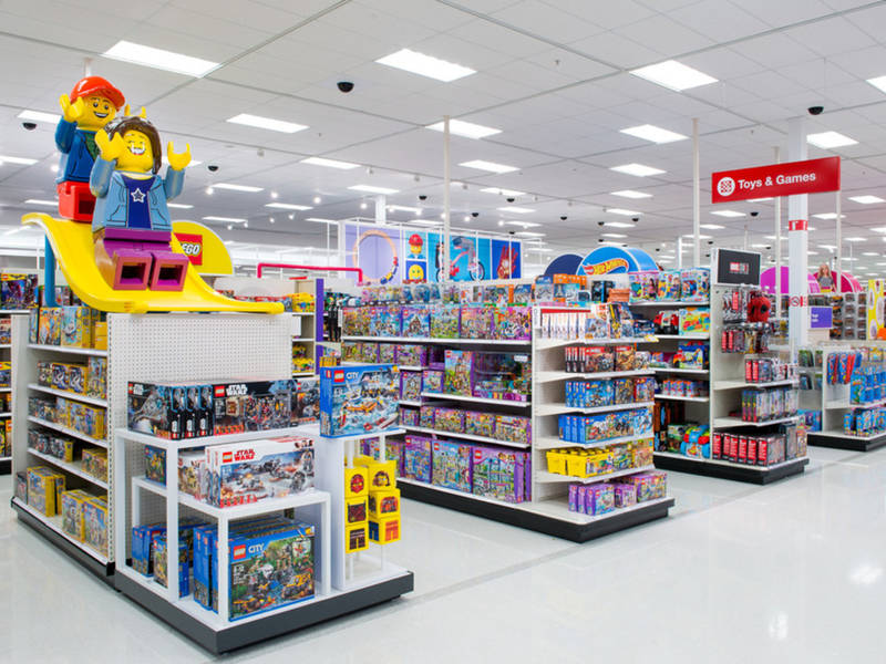 Toys From Target : Target expanding remodeling hundreds of its toy departments