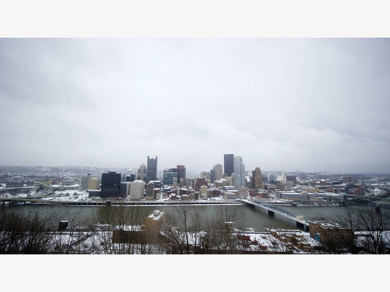 Pittsburgh Winter Storm How Much Snow Likely Will Fall Pittsburgh