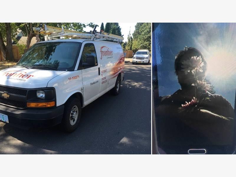 Man Steals Van, Cell Phone; Sends Girlfriend Selfies; Is Arrested