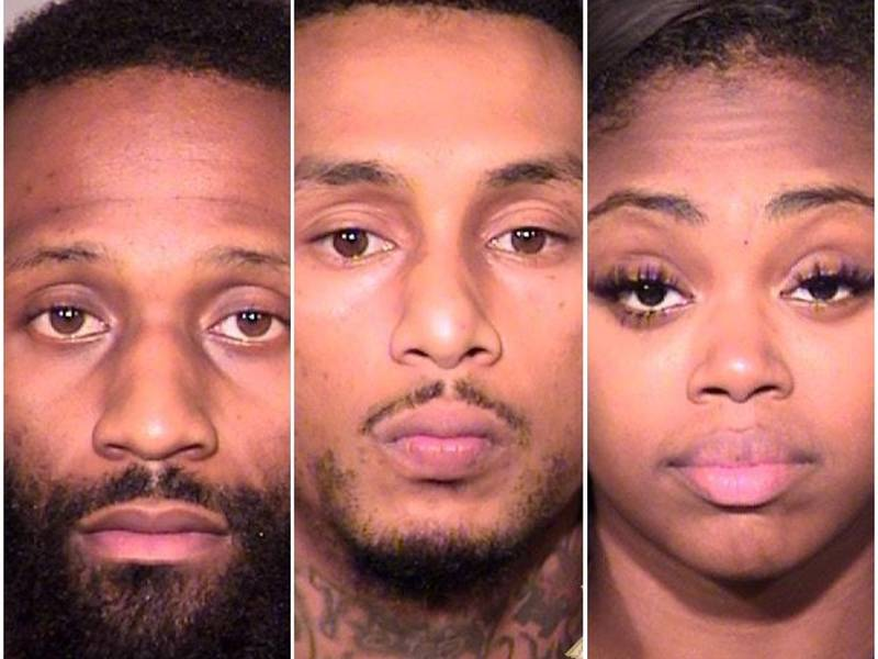 3 Arrested For Robbery Kidnapping Portland Police