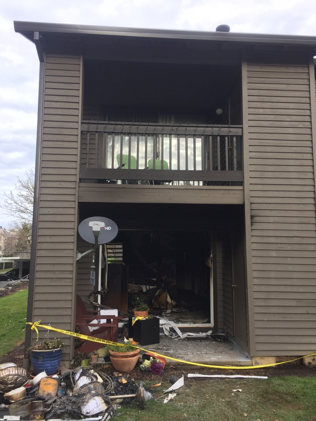 Fireplace Ignites Beaverton Apartment Displaces Mother Daughter