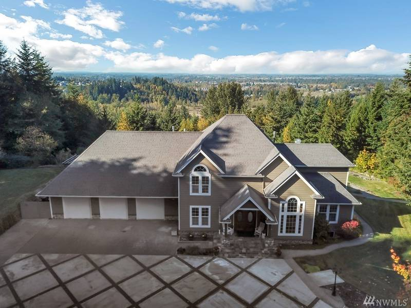 Nearly 20 Acres Of Forest Included With This Buckley Estate