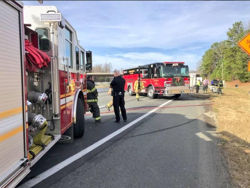 Traffic Alert Fatal I 77 Crash Closes Northbound Lanes Huntersville Nc Patch