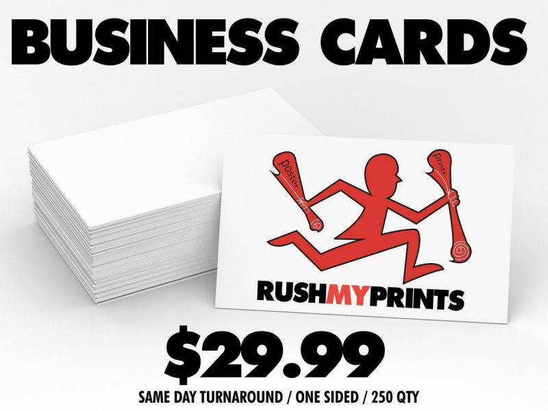 Business Card Printing in Pinole - RushMyPrints - Printing Service ...