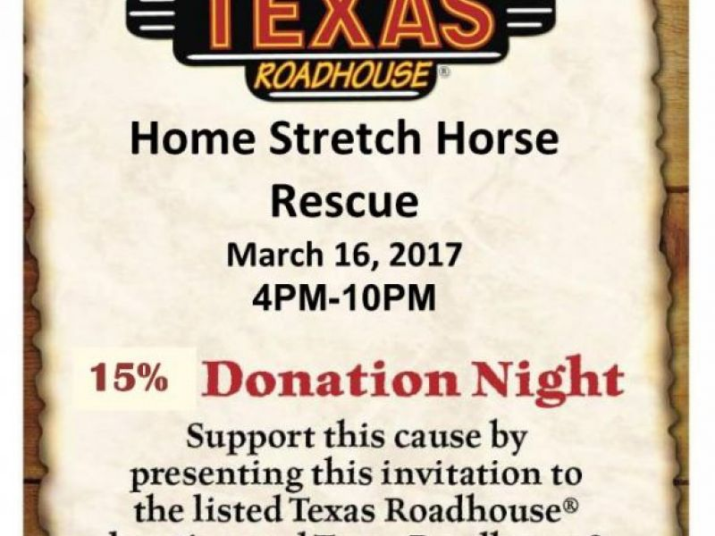 Home Stretch Horse Rescue Fundraiser | Lower Providence, PA