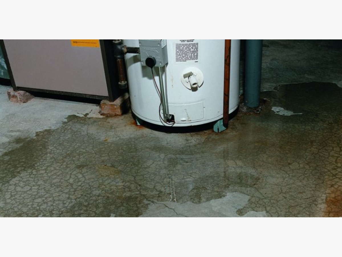 When To Replace Your Hot Water Heater Damage In