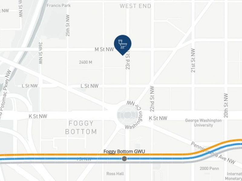 New App Finds Closest Bathroom for Silver Line Metro | Tysons Corner ...