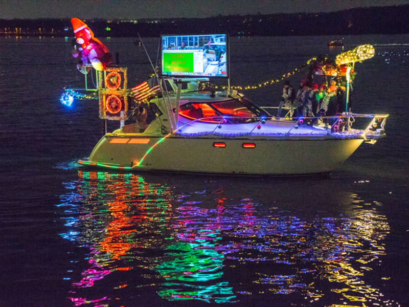 See Photos Of The Alexandria Holiday Boat Parade Winners