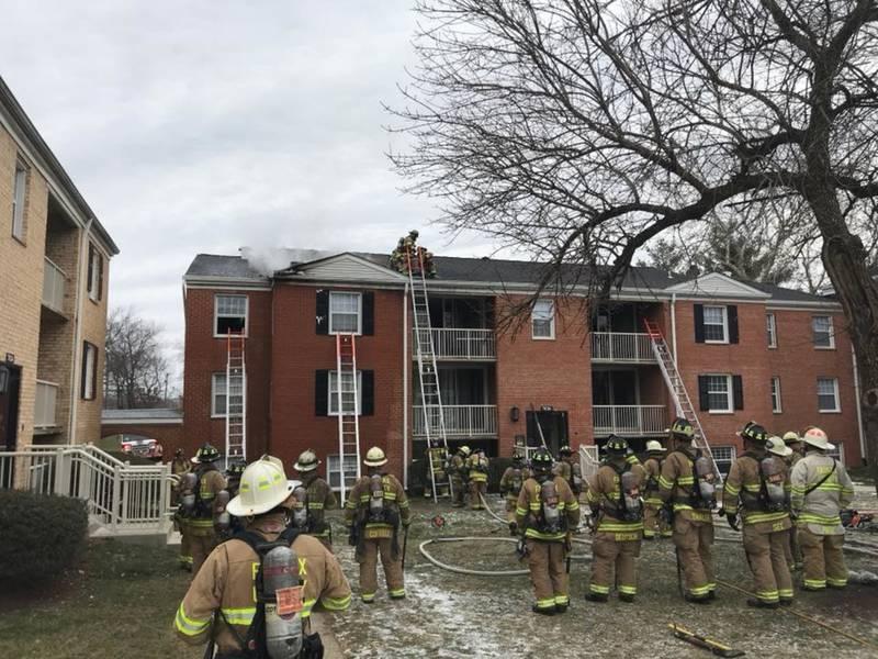 42 lose homes in massive springfield apartment fire burke va patch