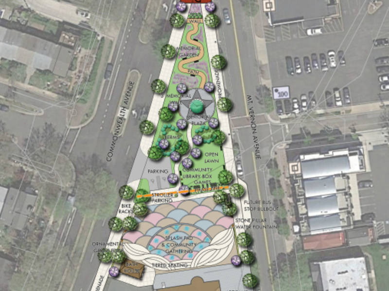 Splash Park, Nancy Dunning Memorial Proposed In Del Ray (ICYMI)