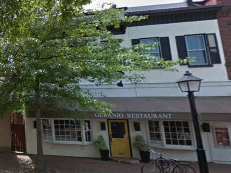 Geranio Closes In Old Town Alexandria Patch