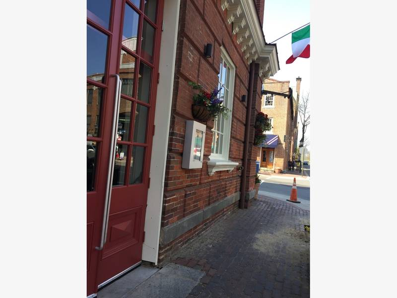 Italian Restaurant Old Town Alexandria Virginia