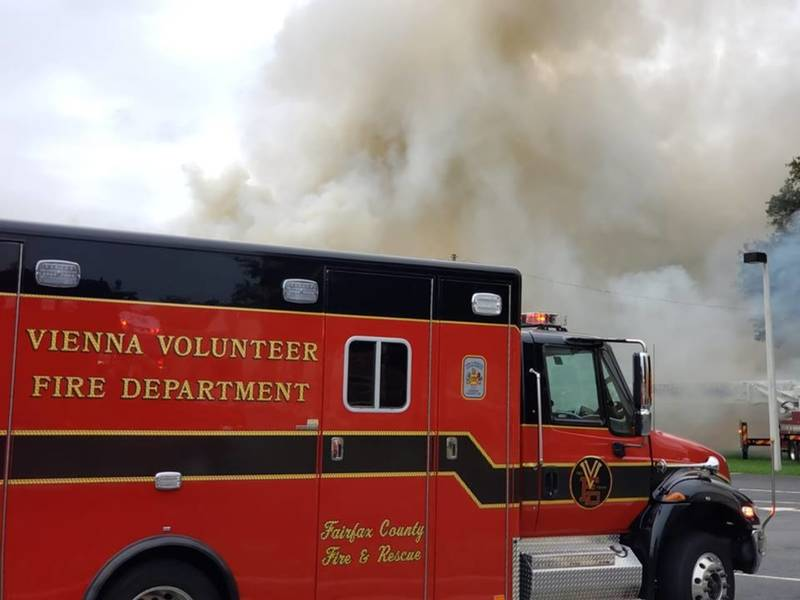 Old Marco Polo Restaurant Catches Fire In Vienna Vienna Va Patch