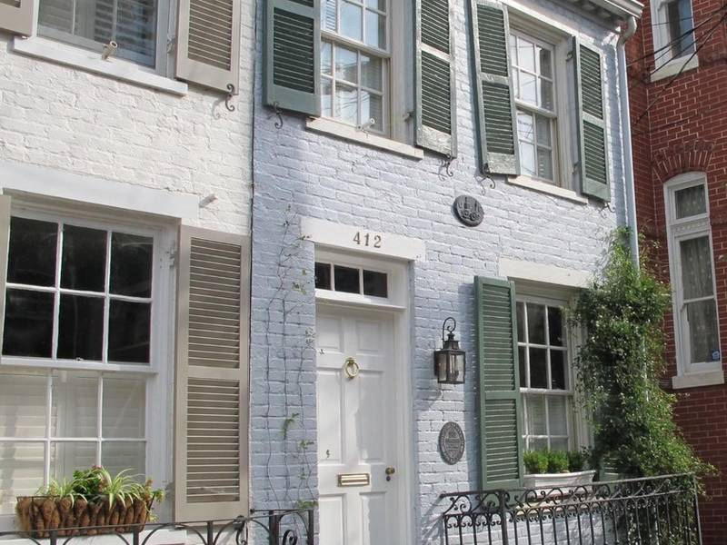 Wow House One Of Older Homes In Old Town Alexandria Old Town Alexandria Va Patch