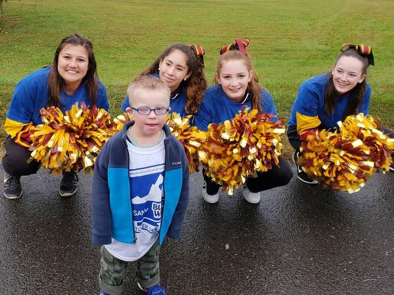 Alexandria Girls Light Up Buddy Walk For Down Syndrome Awareness