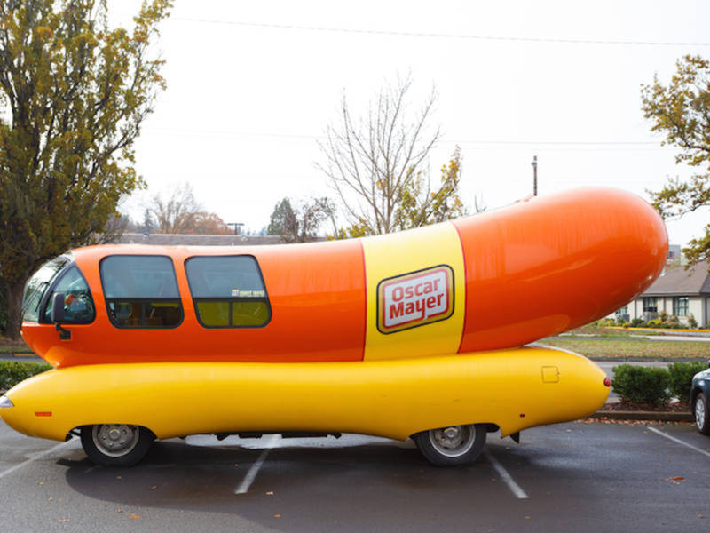 oscar mayer wienermobile to roll into naperville naperville il patch. Black Bedroom Furniture Sets. Home Design Ideas