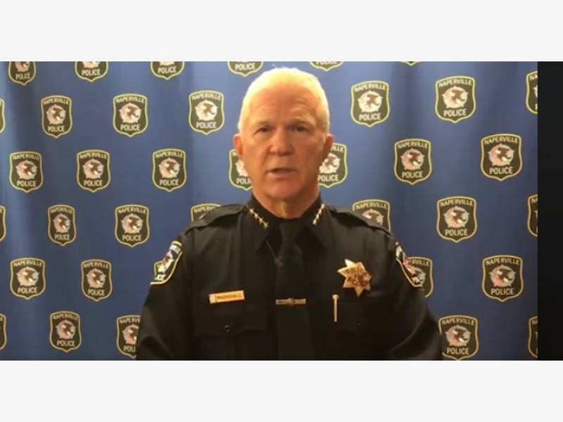 Naperville Police Chief Speaks Out On Police Involved Shooting