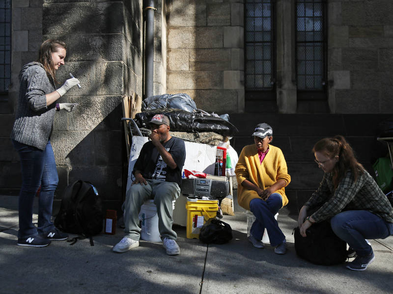 only 1 in 20 homeless people in nyc sleep on the streets