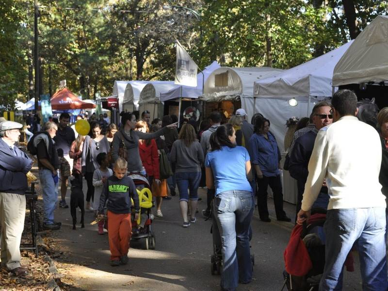 Chastain park fall arts and crafts festival returns patch for Arts and crafts festivals in georgia