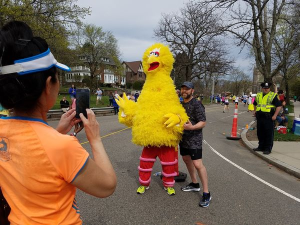 Spaulding Team Runs Boston Marathon for Patients