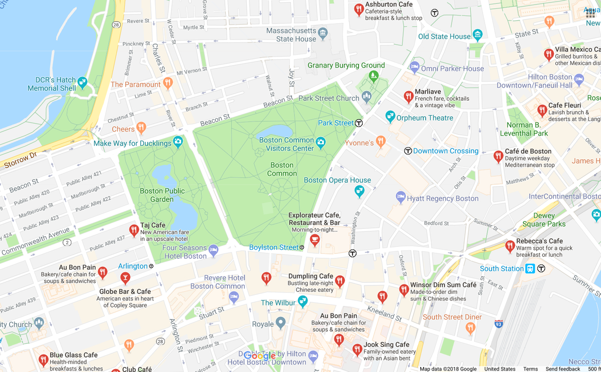 Bostons March For Our Lives Gets Underway Boston MA Patch - Boston common map