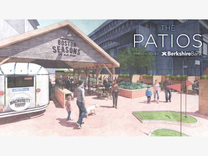City Plaza To Get Beer Gardens And Puppy Wednesday